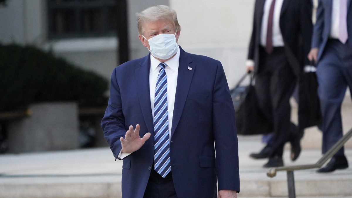 Trump Says Experimental Drugs May Have Saved Him From Coronavirus 1