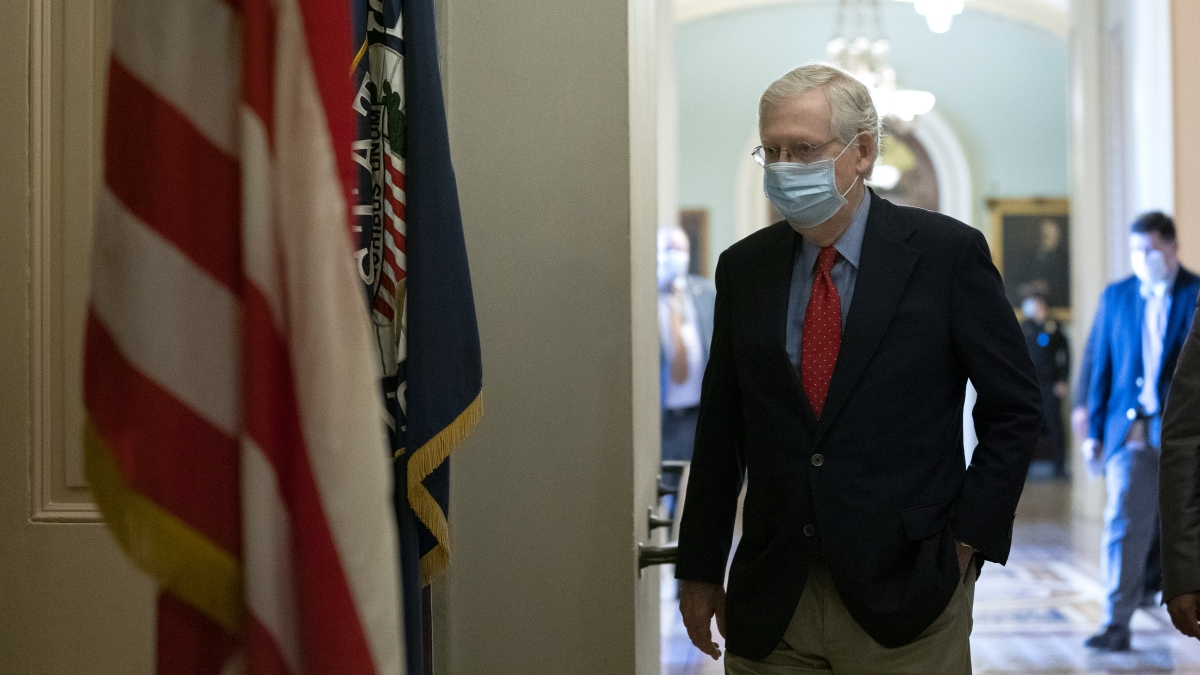 McConnell Says He's Avoided White House for Months Because of COVID-19 Concerns 1