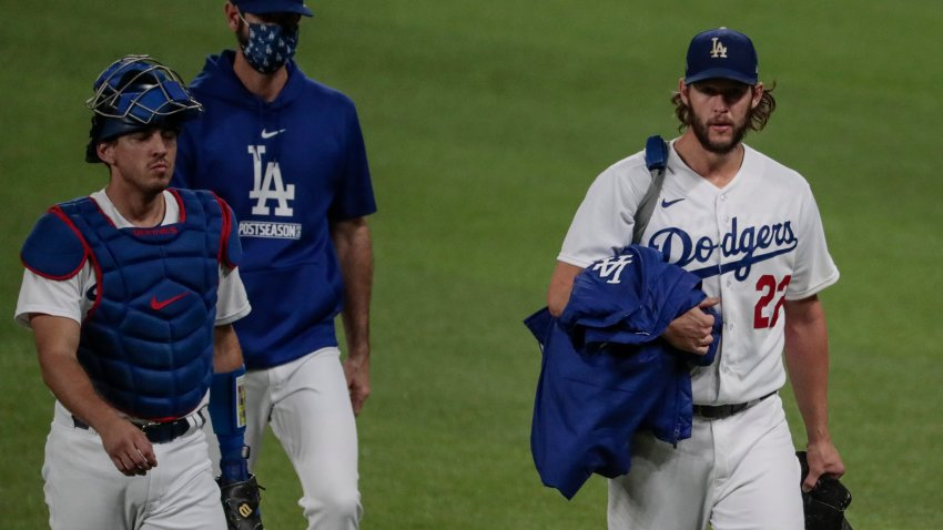 Dodgers and Padres NLDS Game Two