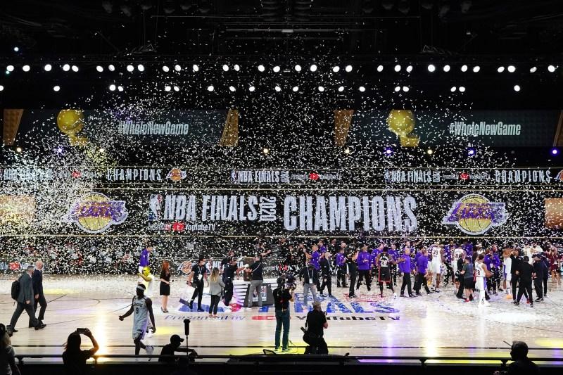 Photos: Lakers Make NBA History With 17th NBA Championship