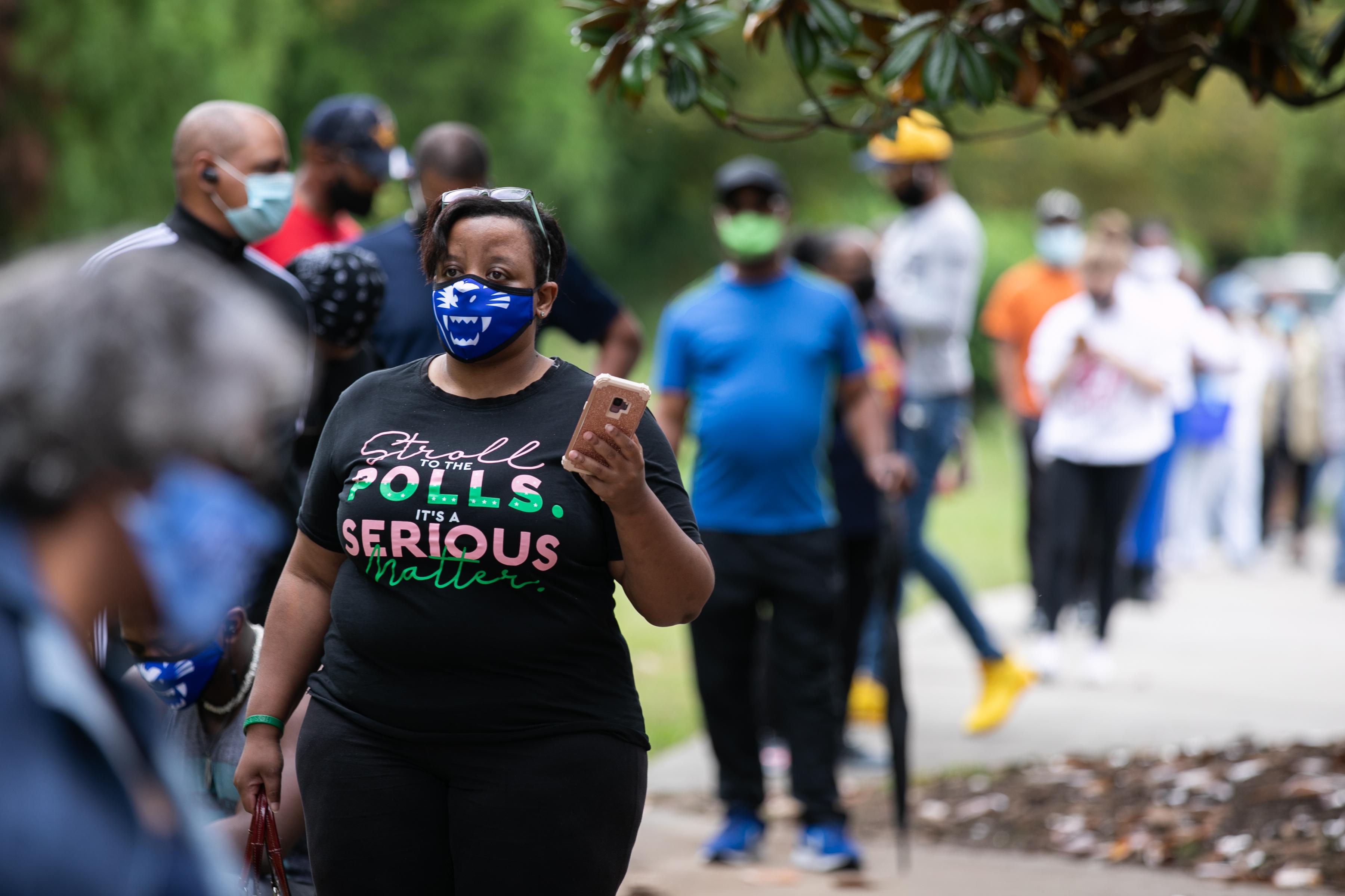 History, Mistrust Spurring Black Early Voters in Georgia 1
