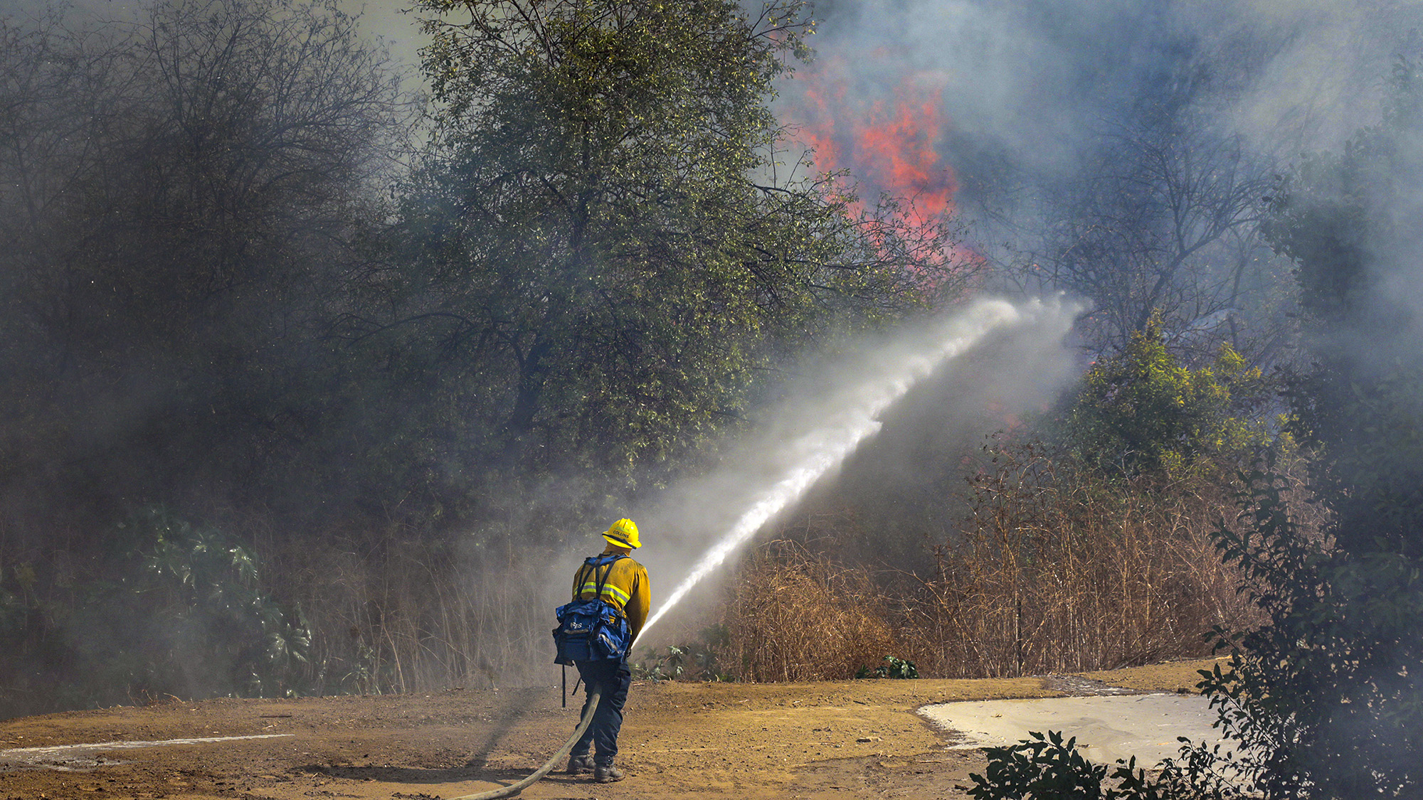 Evacuations Lifted in Blue Ridge Fire Zone – NBC Los Angeles
