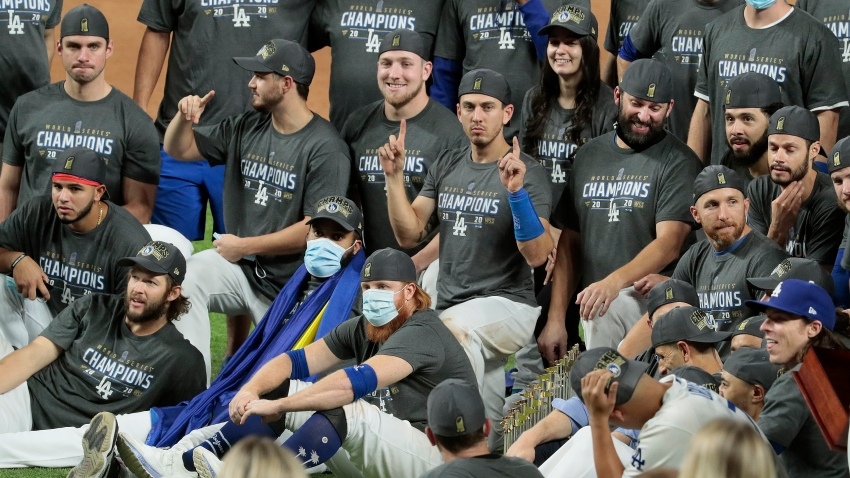 Dodgers World Series Team Photo