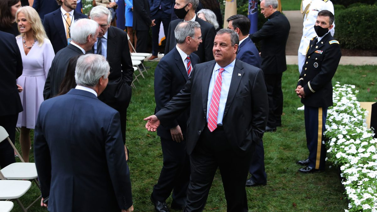 Former NJ Governor Chris Christie Released From Hospital After Positive COVID Test 1
