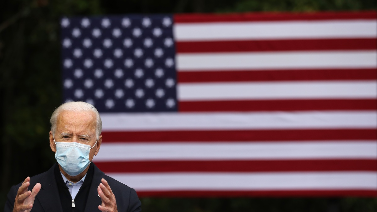 Biden: Trump Diagnosis Is 'Bracing Reminder' of Virus Stakes 1