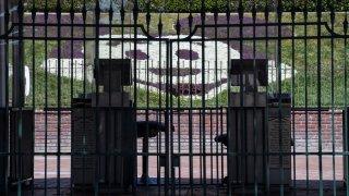 An entrance to Disneyland.