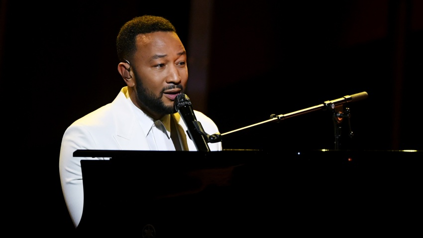 John Legend performs onstage at the 2020 Billboard Music Awards, broadcast on October 14, 2020, at the Dolby Theatre in Los Angeles, California.