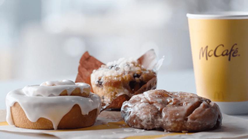 McDonald's new nationwide McCafé® bakery lineup.