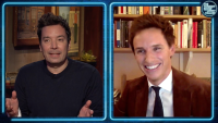 'Tonight': Eddie Redmayne's Home Was an Animal Sanctuary During COVID