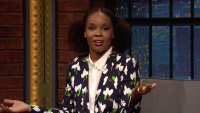 'Late Night': Amber Ruffin Is Living Her Best '14-Year-Old Boy' Life
