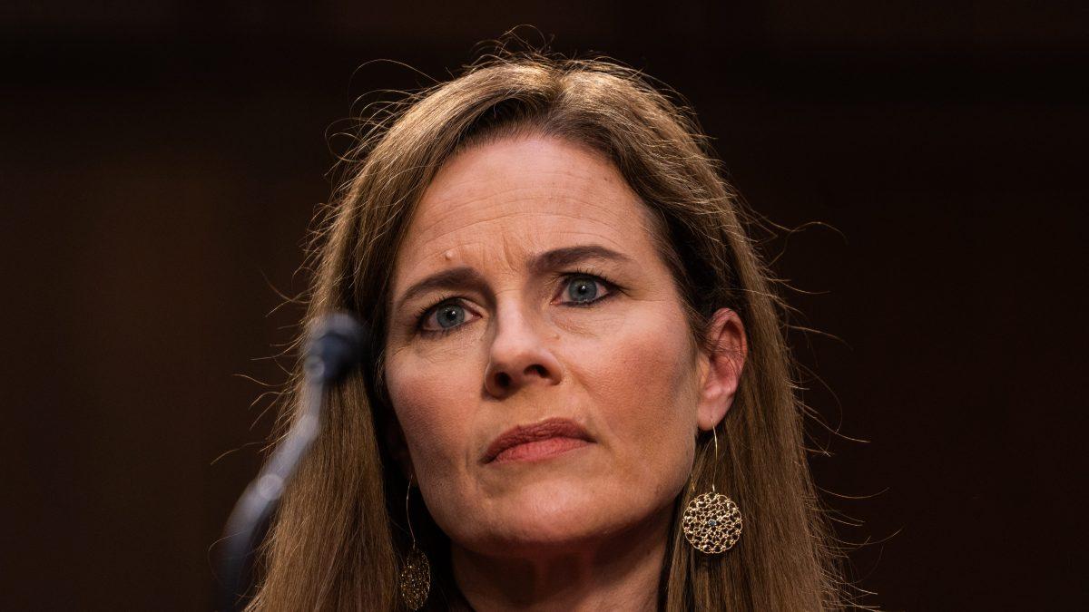 Barrett Bats Away Tough Democratic Confirmation Probing 1
