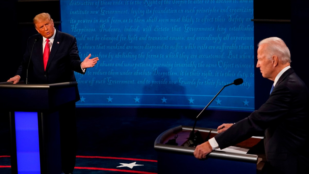 Analysis: Debate Is Brief Interlude of Normalcy in 2020 Race 1