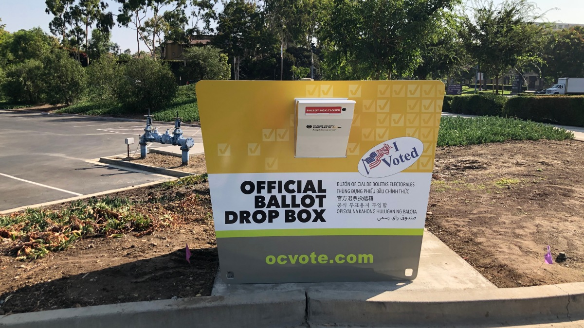 California Orders GOP to Remove Unofficial Ballot Drop Boxes 1