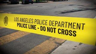 LAPD crime tape-file