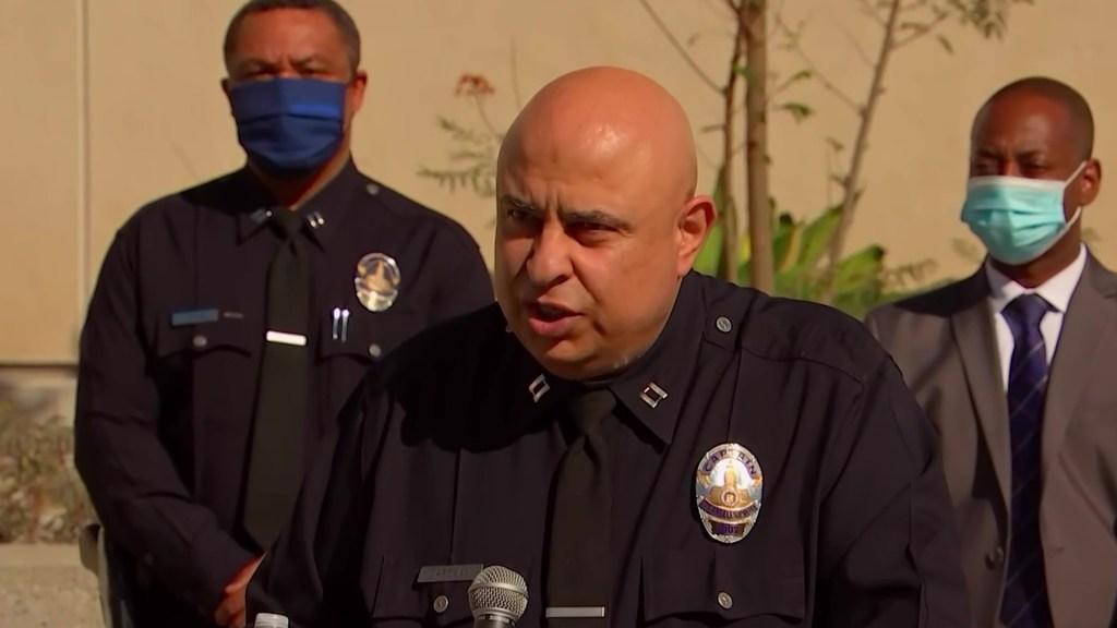 LAPD Capt Zarekani