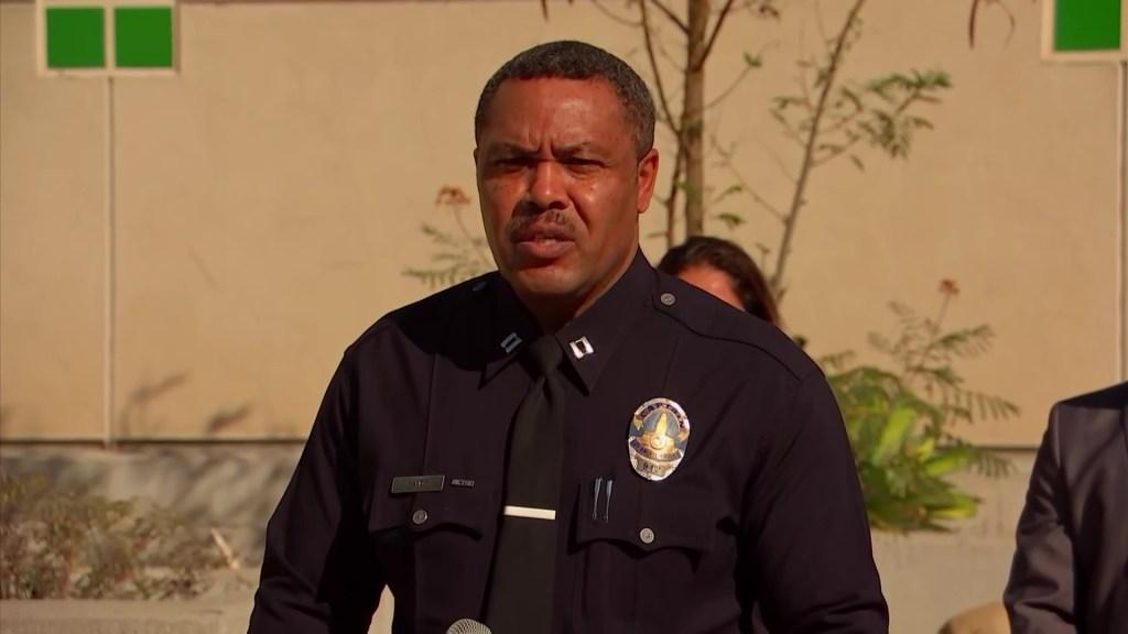 LAPD Capt. Leland Sands