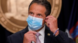 New York Gov. Cuomo Reopens Covid Field Hospital in Staten Island as Hospitalizations Accelerate