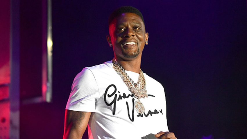 Boosie Badazz performs onstage during The Parking Lot Concert Series at Georgia International Convention Center on Aug. 15, 2020 in College Park, Georgia.