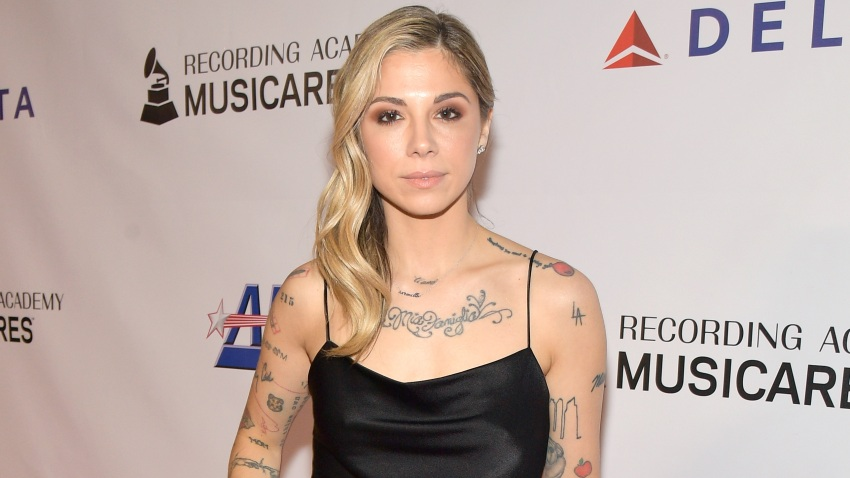 In this Feb. 8, 2019, file photo, Christina Perri attends MusiCares Person of the Year honoring Dolly Parton at Los Angeles Convention Center in Los Angeles, California.