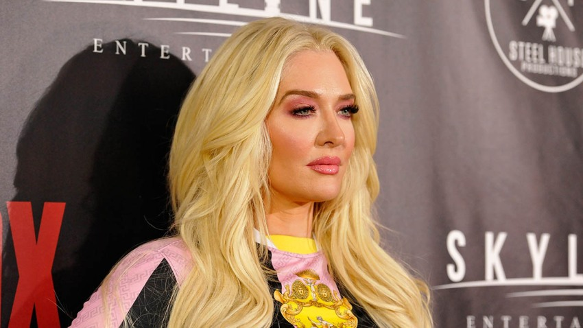 "Erika Jayne attends the premiere of Skyline Entertainment's ""The Toybox"" at Laemmle's NoHo 7, Sept. 14, 2018, in North Hollywood, California."