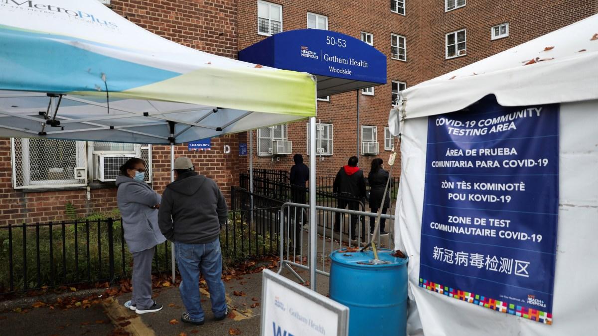 Virus Hospitalizations Surge as Pandemic Shadows US Election 1