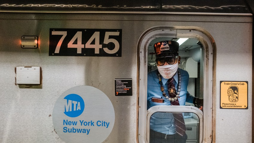 MTA subway conductor