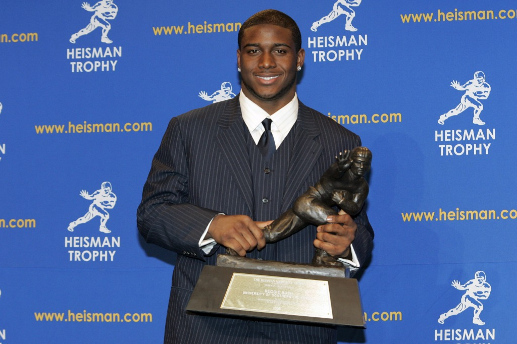 NCAA Football - 2005 Heisman Trophy Presentation - December 10, 2005
