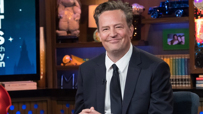 """In this file photo, Matthew Perry appears on """"Watch What Happens Live With Andy Cohen."""""""