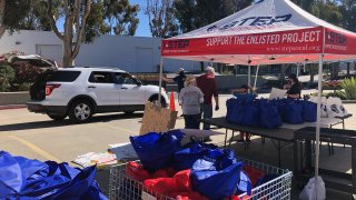 Thanksgiving Dinner Distribution for military families