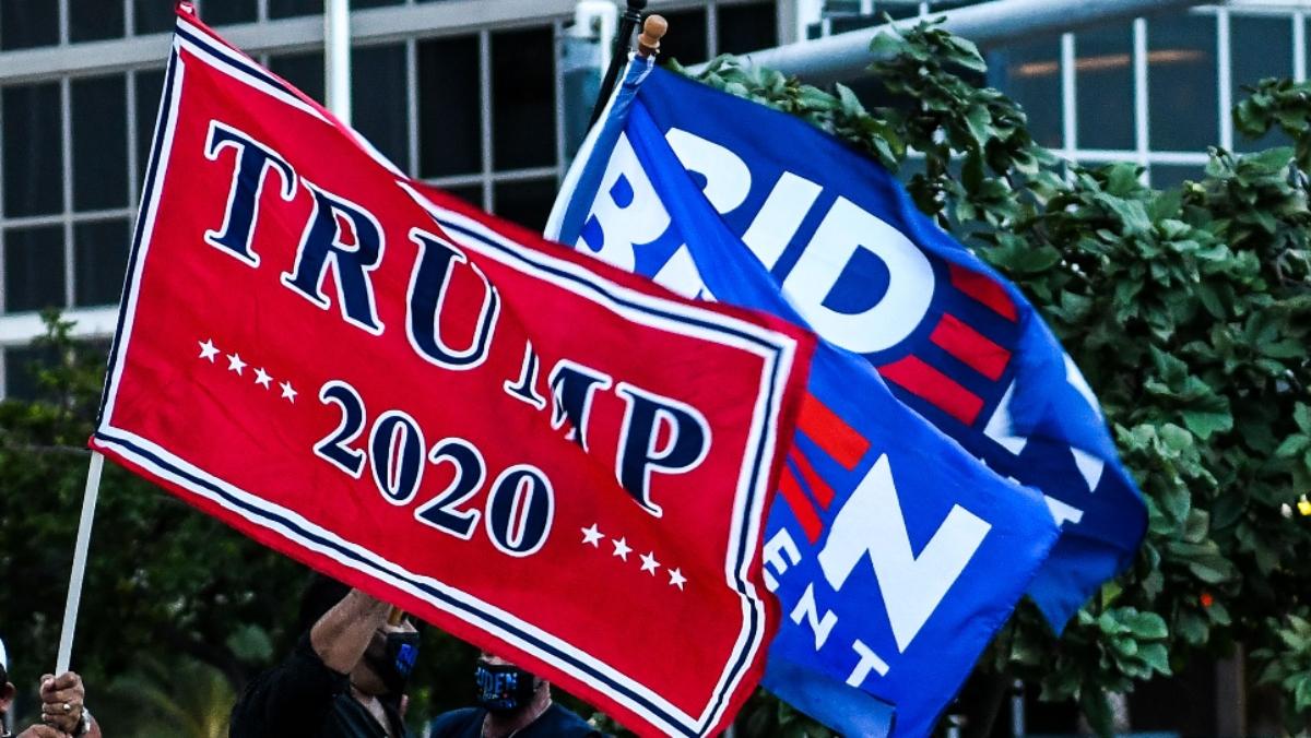 Trump Decries FBI Probe of Supporters Surrounding Biden Bus 1