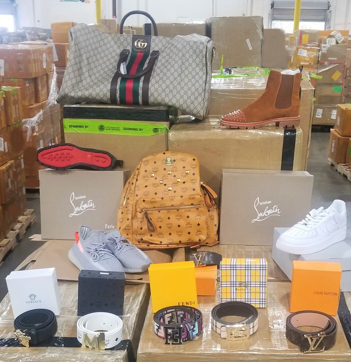 Counterfeit Products in Shipments from China Seized at Long Beach Port Complex