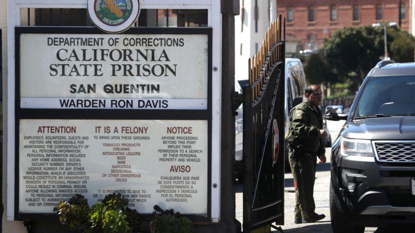 在这张2019年3月13日的档案照片中,加州圣昆丁州监狱的景色。(photo:NBCLA)