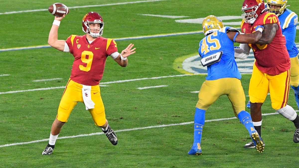Kedon Slovis Throws 5 Touchdowns as No. 16 USC Rallies From 18 Points to  Stun Rival UCLA – NBC Los Angeles