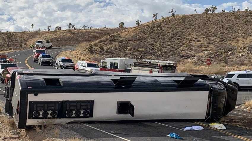 The tour bus, headed to Grand Canyon West, rolled and landed on its side around noon on Jan. 22, 2021, at approximately milepost 5 on Diamond Bar Road in Arizona. The bus, managed by a Las Vegas based company, was carrying forty-eight occupants including the driver. One person died at the scene while at least two others were transported to a nearby hospital in critical condition.