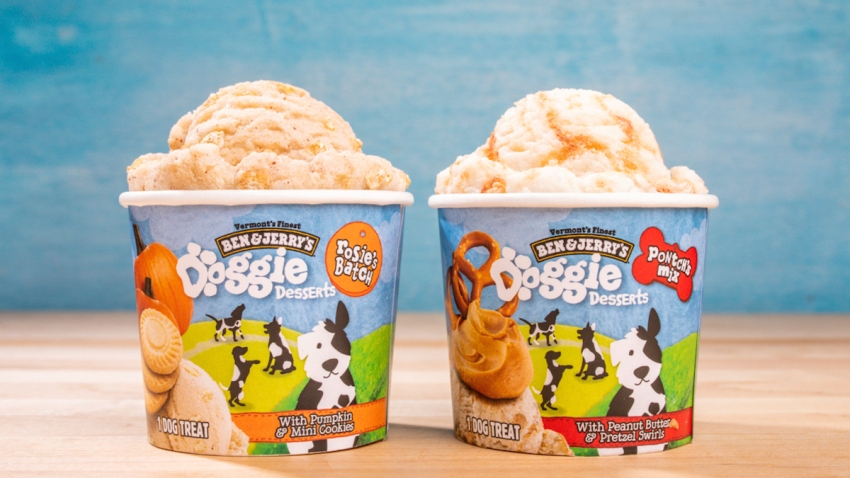 Ben and Jerry's Doggie ice cream