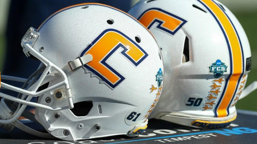 Chattanooga Mocs helmet