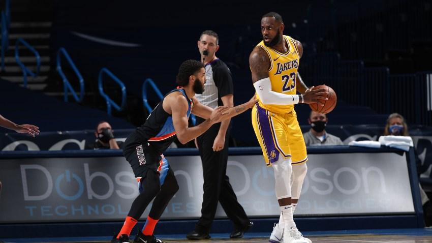 Los Angeles Lakers v Oklahoma City Thunder