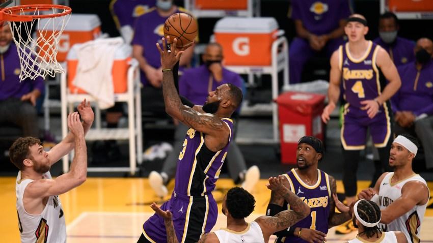NBA – Tutto facile per i Lakers, abbattuti i Pelicans di Nicolò Melli