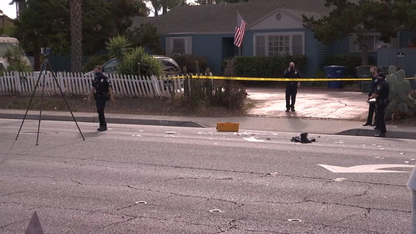 El Cajon Officer Hurt Scene