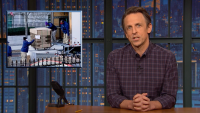 'Late Night': Closer Look at Trump Moving Out of White House