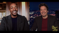 'Tonight': Anthony Mackie on the Biggest Trash Talker in 'Avengers'