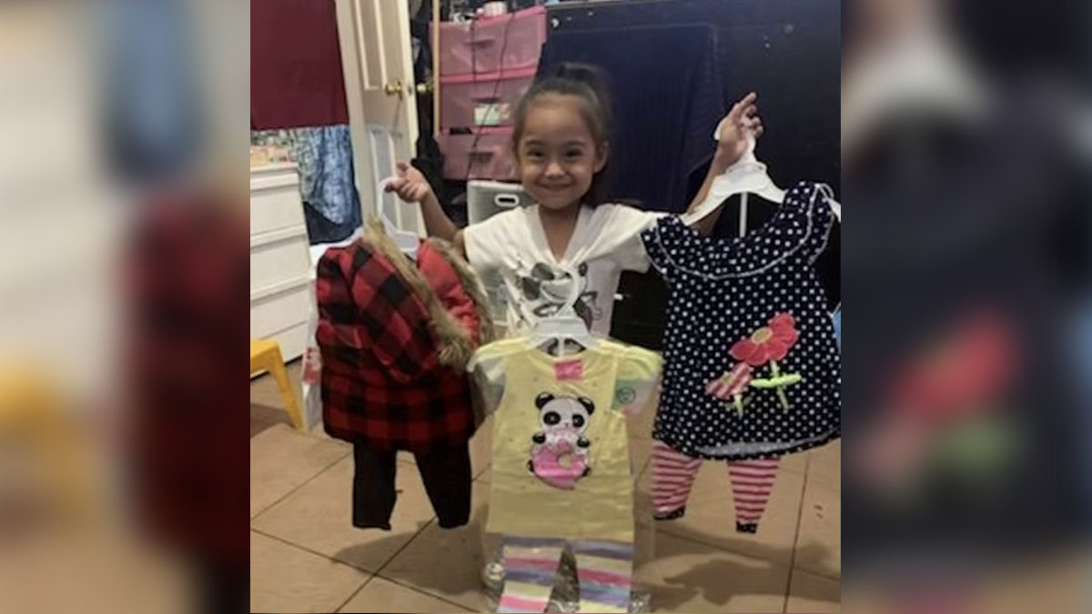 LAPD Helps After Thieves Steal All of Family's New Clothes Bought With Savings