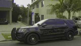 A man was arrested at a West LA apartment.