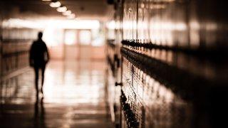 generic high school hallway
