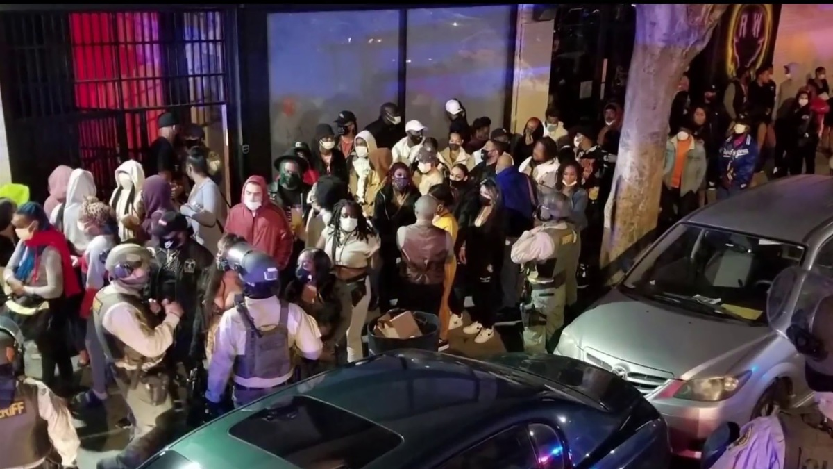 Nearly 200 People Arrested at Underground Party by LASD Super-Spreader Taskforce