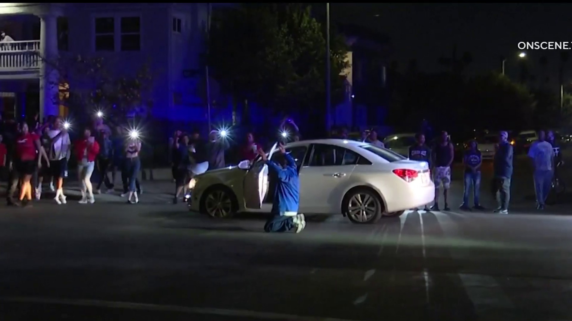 Police Chase of Assault With a Deadly Weapon Suspect Ends in South Los Angeles