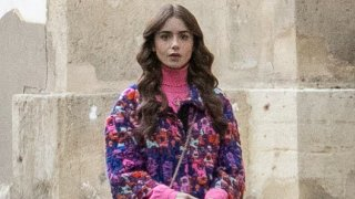 """Lily Collins in """"Emily in Paris"""""""