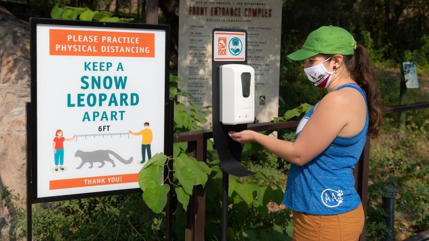 洛杉矶动物园重新开放,增加了安全规程
