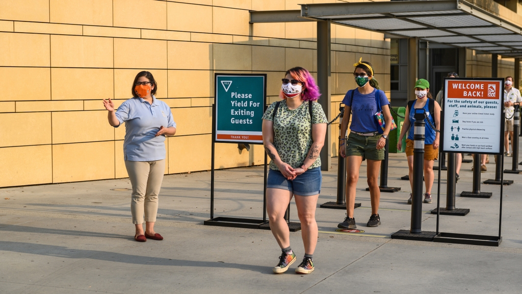 洛杉矶动物园重新开放,但增加了安全规程