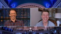 Colin Jost on Scarlett Johansson Wedding, 'SNL' After Parties